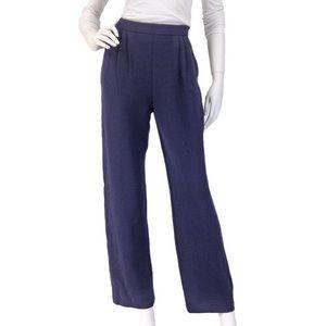 NAVY BLUE St. John Basic Santana Knit Pants Sz. 10
